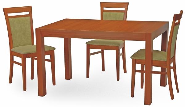 drevený nábytok výrobcu Stima. Drevený jedálenský stôl a stoličky
